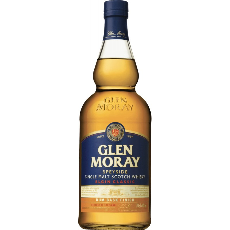 Glen Moray Rum Cask Finish 70cl 40%vol.