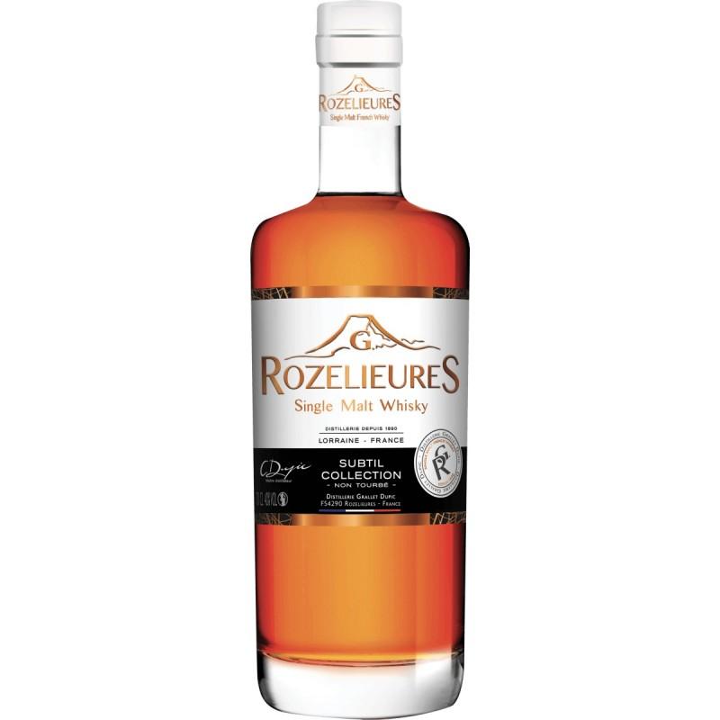 Whisky Rozelieures Subtil Collection 70cl 40%vol.