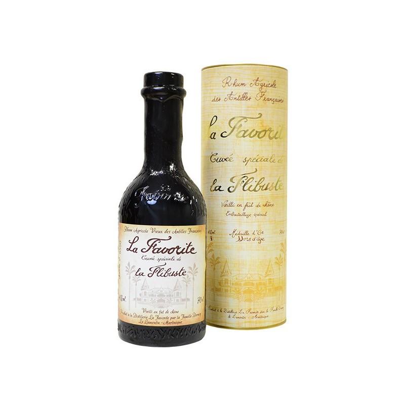 Rhum Agricole Hors d'Age La Favorite - Cuvée spéciale La Flibuste 1994 70cl