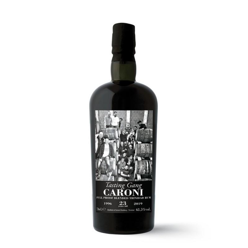 Caroni Guyana 23 ans 1996 tasting Gang 63,5 %vol. 70cl