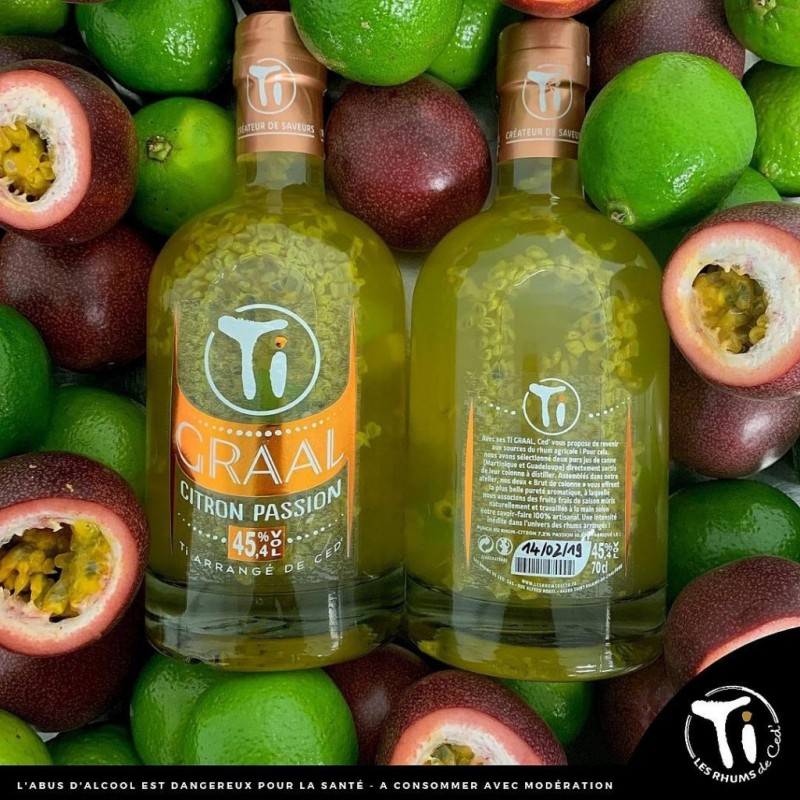 TI GRAAL CITRON PASSION 70CL