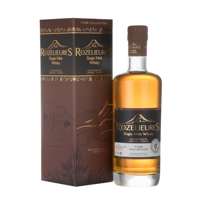 Whisky Rozelieures Fumé Collection 70cl