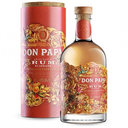 Rhum DON PANA SEVILLANA Cash Finish 70cl