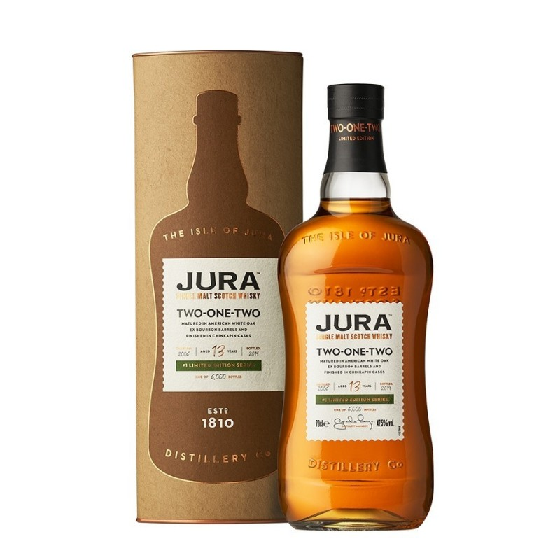 Jura 13 ans TWO-ONE-TWO 70cl