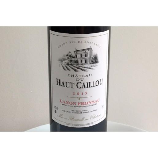 Canon Fronsac Haut Caillou 2015 75 cl