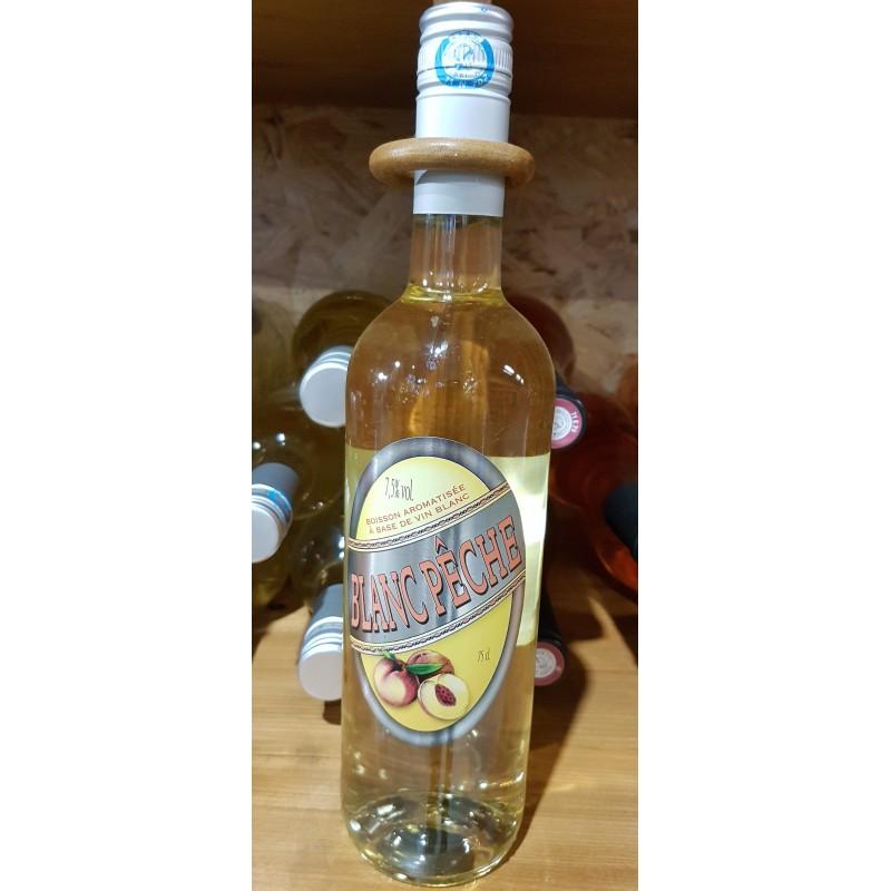 Vin fruité Blanc Pêche 75 cl