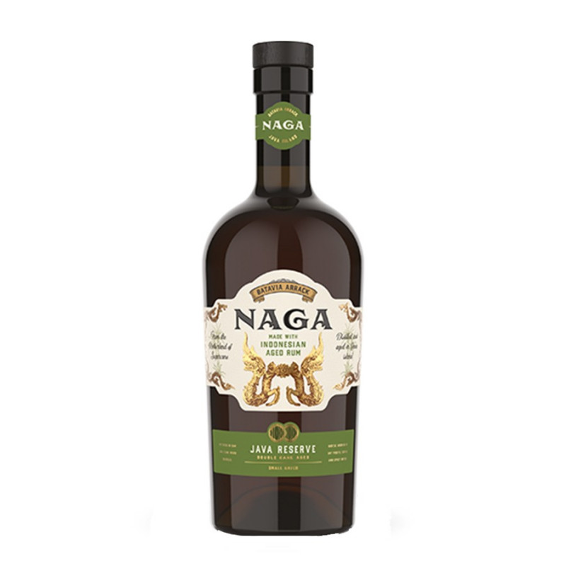 RHUM NAGA Java réserve Double cask aged 70cl