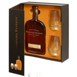 Coffret Woodford Reserve 70cl + 2 verres