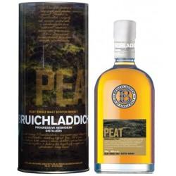 Bruichladdich Peat  Ecossais Single Malt 70cl