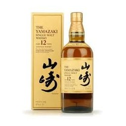 Yamazaki 12 ans Japonais Single Malt 70 cl.