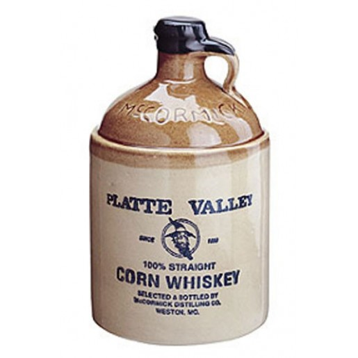 Platte Valley Cruchon 100% Corn Whiskey 70cl