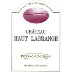 Chateau Haut Lagrange Pessac-Léognan 2011