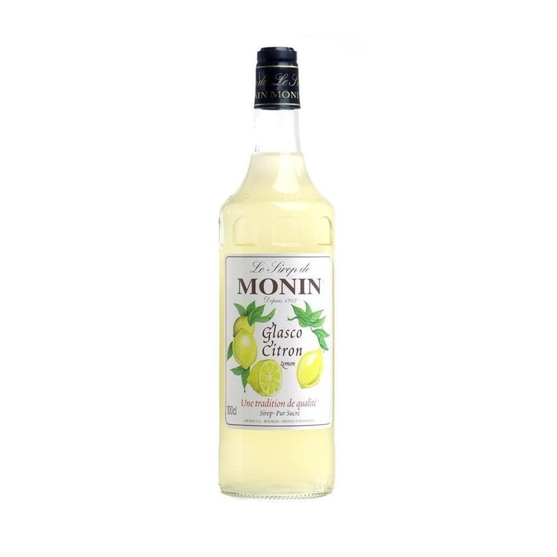 Sirop Monin Glasco Citron 100 cl