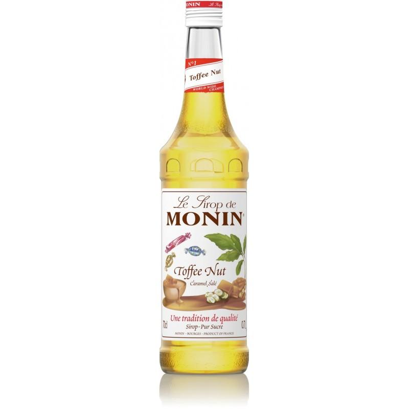 Sirop Monin Toffee Nut Caramel Salé 70 cl