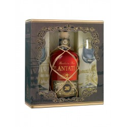 Plantation Rum XO 20th Anniversary coffret 2 verres 40°