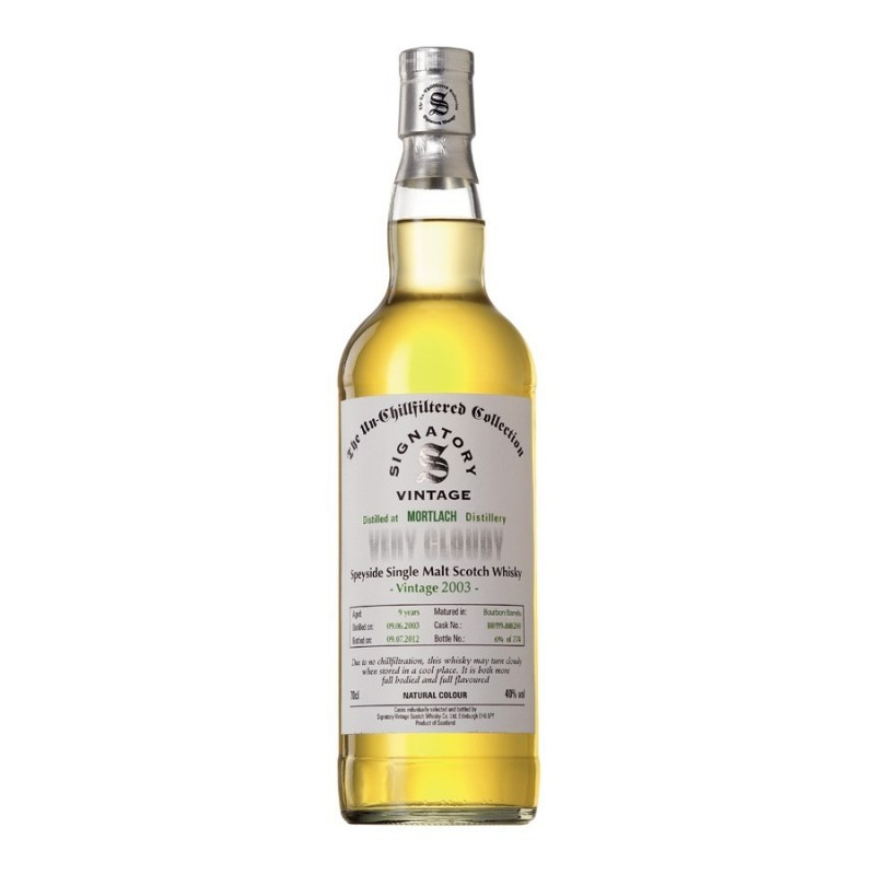 Mortlach 2003 Very Cloudy 40°  70cl