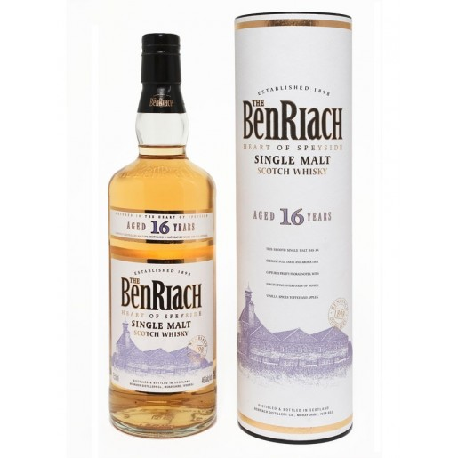 Benriach 16 ans 43°  70cl