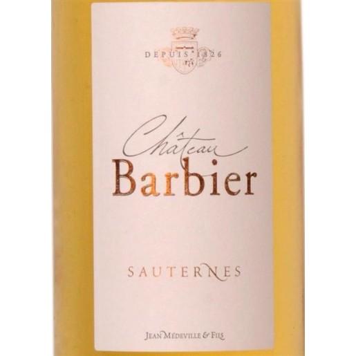 Sauternes Chateau Barbier 2007  75cl