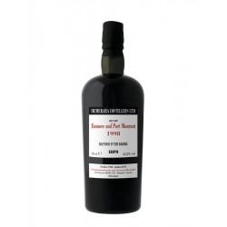 ENMORE AND PORT MOURANT 1998 16 ans Demerara EHPM 70cl  62.2°