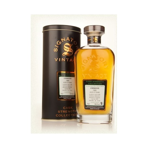 Linkwood 1995  27 ans  70cl  58°