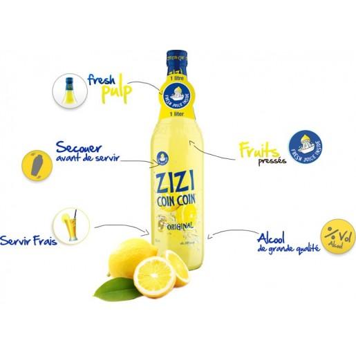 ZiziCoinCoin Original Lemon 100cl 12.5°