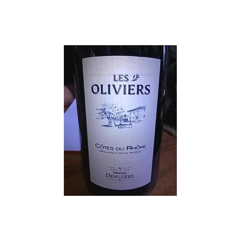 Les oliviers 2015 75cl