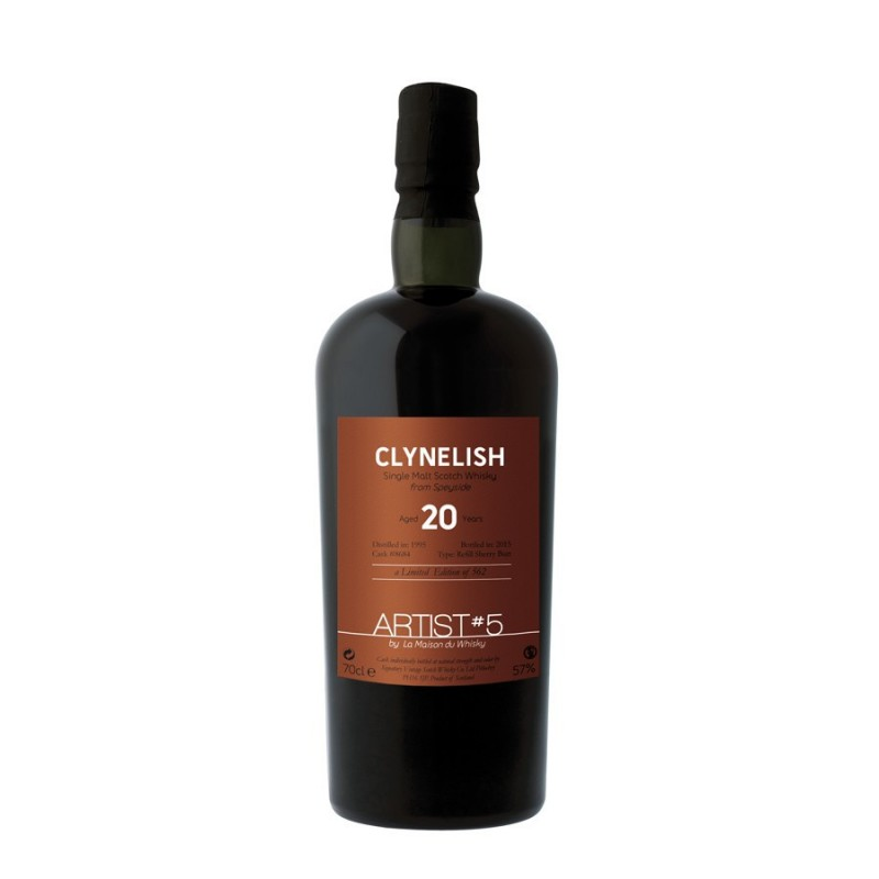 CLYNELISH 1995 Aged 20 Years 5th Edition 54,2%