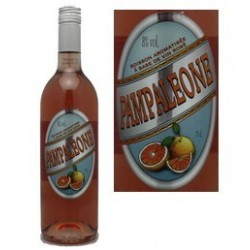 Pampaleone vin rosé au pamplemousse