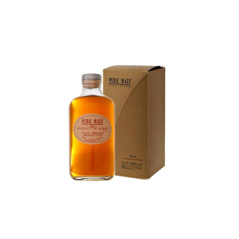 Nikka pure Malt Red Whisky 50cl 43%vol