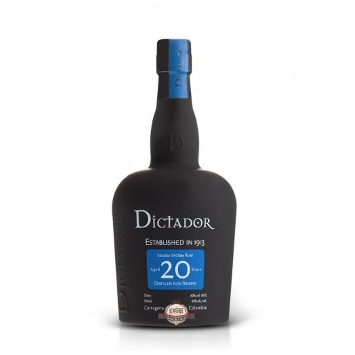 Dictador 20 ans 70cl 40%