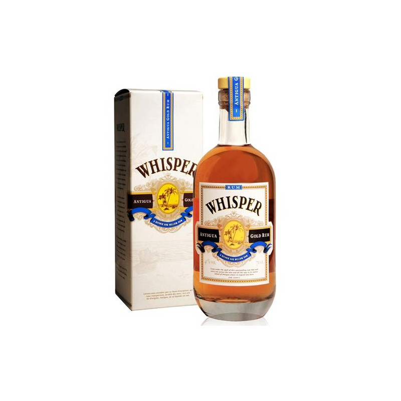 Rhum Whisper Antigua Gold Rum 70cl