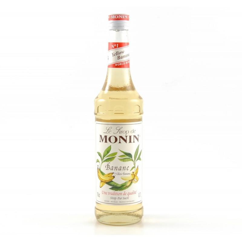 Sirop Monin Banane jaune 70cl