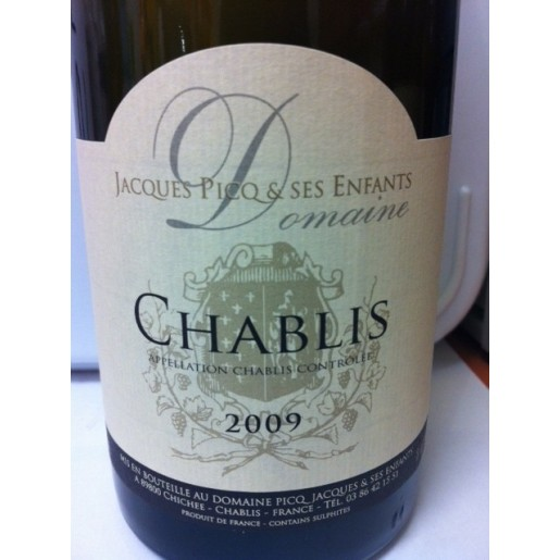 Chablis Domaine Jacques Picq 2015 75cl