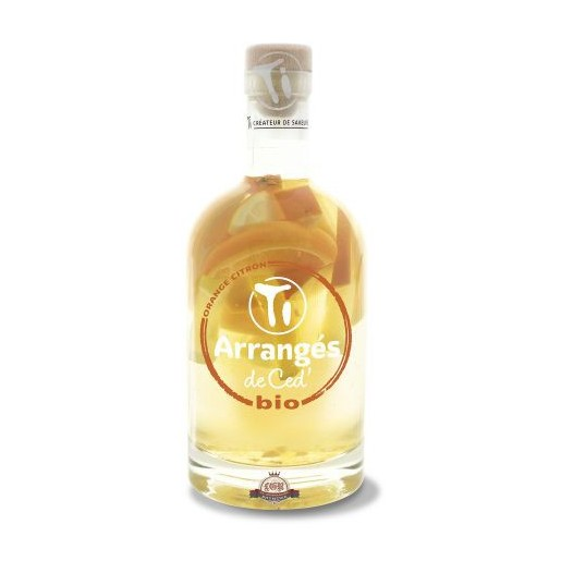 Rhum Ti'Arrangé ORANGE CITRON bio 35CL